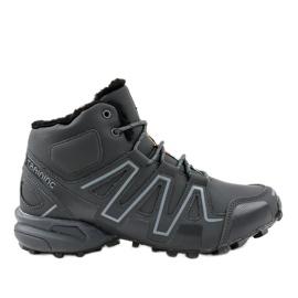 Sapatos de trekking com isolamento cinza BN8810