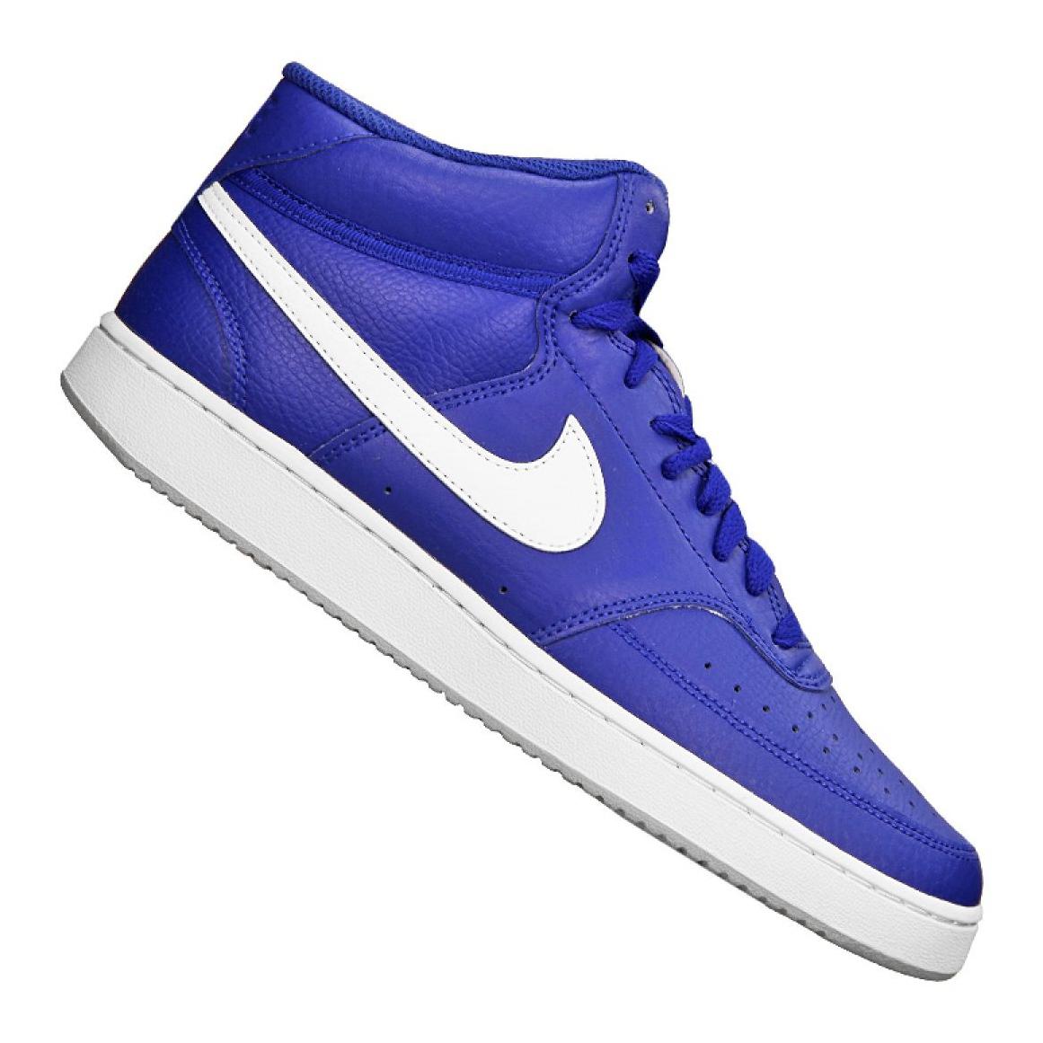 Sapatilhas Nike Court Vision Mid M CD5466 400 azul