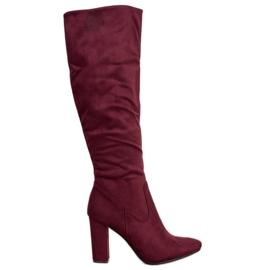 Botas elegantes VINCEZA vermelho