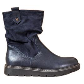 Ideal Shoes Trabalhadores da Plataforma azul
