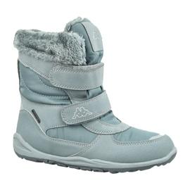 Botas de inverno Kappa Gurli Tex Jr 260728K-1615 cinza