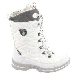 Botas de neve com uma membrana American Club SN08 branco