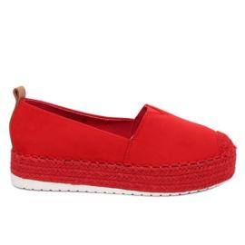 Alpargatas com sola alta vermelho BL247 Red II