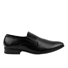 Mocassins elegantes pretos 6-317