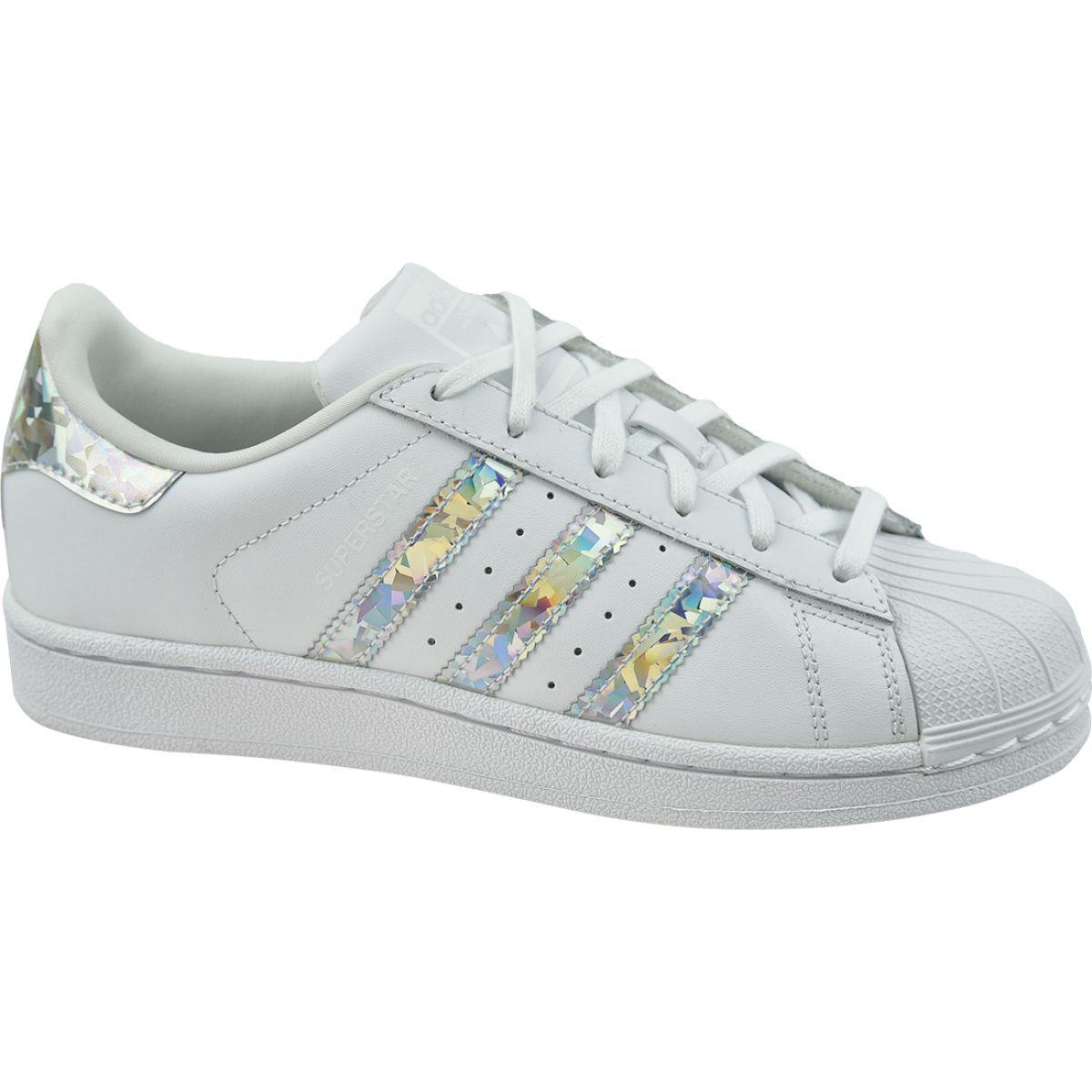 Adidas Originals Superstar Jr F33889 sapatos branco