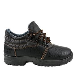 7M900 sapatos de trekking pretos