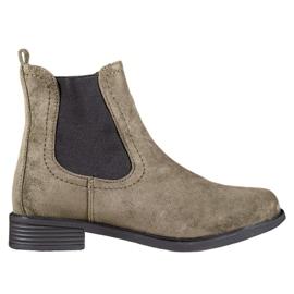 Ideal Shoes Botas casuais de Jodhpur verde