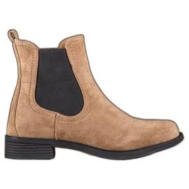 Ideal Shoes Botas casuais de Jodhpur marrom