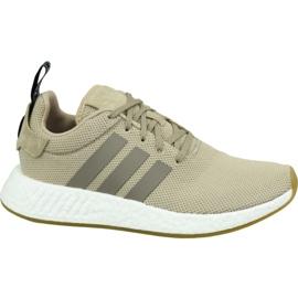 Sapatos Adidas NMD R2 M BY9916 marrom