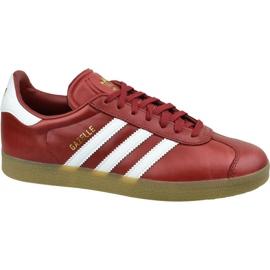 Sapatos Adidas Gazelle W BZ0025 vermelho