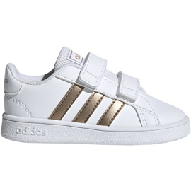 Sapatos Adidas Grand Court I Jr EF0116 branco