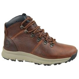 Sapatos Timberland World Hiker Mid M A213Q marrom