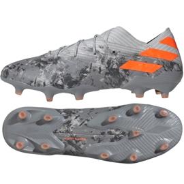 Chuteiras de futebol Adidas Nemeziz 19.1 Fg M EF8281 cinza