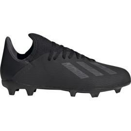 Chuteiras de futebol Adidas X 19.3 Fg Jr F35364 preto preto