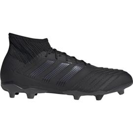 Chuteiras de futebol Adidas Predator 19.2 Fg M F35603 preto preto