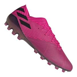 Chuteiras de futebol Adidas Nemeziz 19.1 Ag Fg M FU7033 -de-rosa -de-rosa