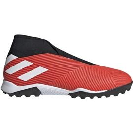 Chuteiras de futebol Adidas Nemeziz 19.3 Ll Tf M G54686 preto, vermelho vermelho