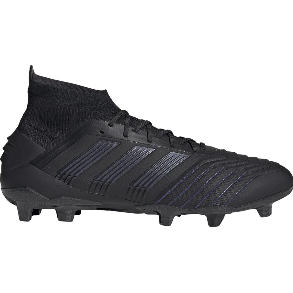 Chuteiras de futebol adidas Predator 19.1 Fg M preto preto