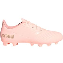 Chuteiras de futebol Adidas Predator 18.4 M FxG DB2008 -de-rosa -de-rosa