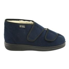 Befado sapatos femininos pu 986D010 marinha