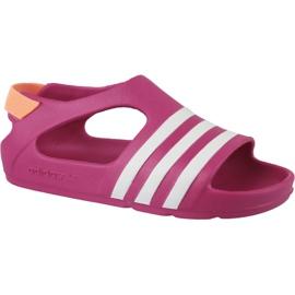 Adidas Adilette Play I Jr B25030 sandálias -de-rosa