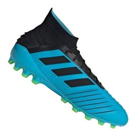 Chuteiras de futebol Adidas Predator 19.1 Ag M F99970 azul azul