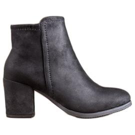 Clowse Botas clássicas de tornozelo preto