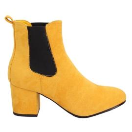 Amarelo Jodhpur botas amarelo 2208-132 Amarelo