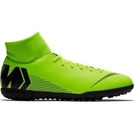 Chuteiras de futebol Nike Mercurial Superfly 6 Club Tf M AH7372 701 preto, verde verde