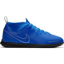Chuteiras de futebol Nike Phantom Vsn Club Df Ic Jr AO3293 400 azul