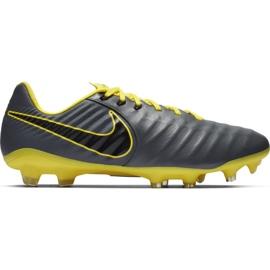 Chuteiras de futebol Nike Tiempo Legend 7 Pro Fg M AH7241 070 cinza