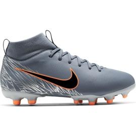 Chuteiras de futebol Nike Mercurial Superfly 6 Academy Mg Jr AH7337 408 cinza