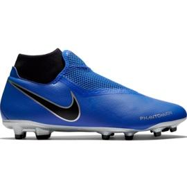Chuteiras de futebol Nike Phantom Vsn Academy Df FG / MG M AO3258 400 azul