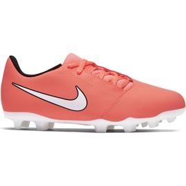 Chuteiras de futebol Nike Phantom Venom Club Fg Jr AO0396-810 laranja laranja