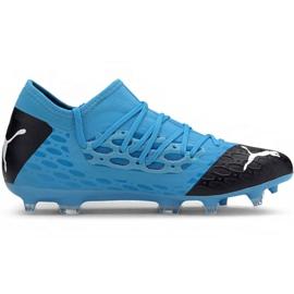 Puma Future 5.3 Netfit Fg Ag M 105756 01 chuteiras azul azul