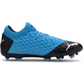 Puma Future 5.4 Fg Ag M 105785 01 chuteiras azul