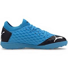 Puma Future 5.4 Tt Jr 105813 01 chuteiras azul