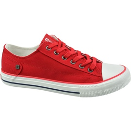 Sapatilhas Big Star W DD274339 vermelho