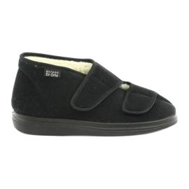 Sapatos masculinos befado pu 986M011 preto