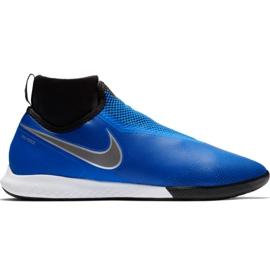 Chuteiras de futebol Nike React Phantom Vsn Pro Df Ic M AO3276 400 preto, azul