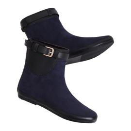Wellingtons botas de mulher azul marinho K1890101 Marino marinha
