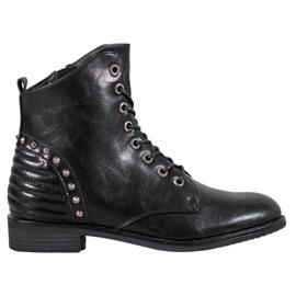 Botas elegantes VINCEZA preto