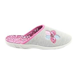 Befado colorido calçados femininos 235D155 cinza