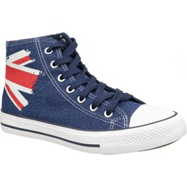 Sapatos Lee Cooper High Cut 1 M LCW-19-530-041 marinha