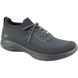 Sapatilhas Skechers You Shine Trainers W 14957-BKGY cinza
