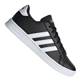Sapatos Adidas Grand Court Jr EF0102 preto