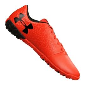 Chuteiras de futebol Under Armour Magnetico Select Tf M 3000116-600 laranja vermelho