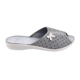 Befado sapatos femininos pu 254D047 cinza