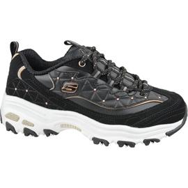 Sapatos Skechers D'Lites W 13087-BKRG preto