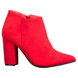 Marquiz Botas com zíper sexy vermelho